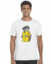 Walter Jessie Pinkman Heisenberg TV Breaking Bad Lego inspired Unisex T-Shirt