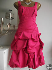 MONSOON PINK CARMEL RUFFLE SUMMER WEDDING PARTY PROM COCKTAIL EVENING DRESS 12
