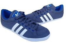 Adidas Kids Plimcana Low Trainer M20663 Suede uppers Graphite/Navy UK 13.5 -UK 6