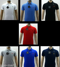 BNWT New Model Ralph Lauren Small Pony Polo Men Shirt Size S, M, L, XL, XXL