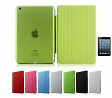 Smart Cover + Back Case Magnetica per Apple iPad Mini e iPad Air + Pellicola