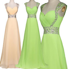 GK Long Chiffon Sleeveless Cocktail Ball Gown Formal Evening Party Prom Dresses