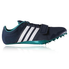 Adidas Adizero Accelerator Mens Blue Running Athletics Spikes Sports Shoes
