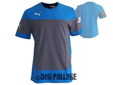Puma Indomitable Leisure Tee Shirt blau Freizeit Sport T-Shirt Gr.S - XXL