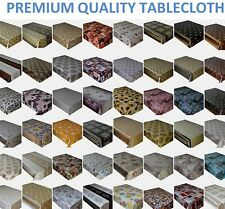 PVC TABLECLOTH WIPE CLEAN VINYL TABLE COVER TABLE PROTECTOR RECTANGLE SQUARE