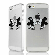 2017 NEW ★ Coque Case HOUSSE Iphone 4 5 S C 6  + Mickey Disney Minnie love Kiss★
