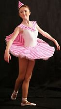 Dance-Ballet-Girls-Ladies-Stage-Show-CANDY CANE TUTU  COSTUME All Ages & Sizes