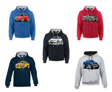 WickedHoods Cartoon Car Hoodie Ford Focus MK2 ST 'Facelift' BK Alloys Sweatshirt