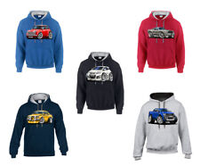 WickedHoods Cartoon Car Hoodie Ford Focus MK1 & MK2 RS Versions Sweatshirt