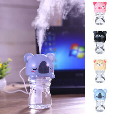 USB Cartoon Gourde Vapeur Capuchon Humidificateur Bureau Air Brume Diffuseur