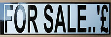 FOR SALE sign + Numbers External vinyl stickers Decals weather proof 25-200mm