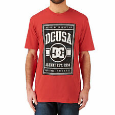 DC T-shirts - DC Rd Authentic T-shirt - Red