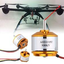 A2212 KV1400 KV2200 KV 930 moteur Brushless Pour RC Multirotor Aircraft Avion DC
