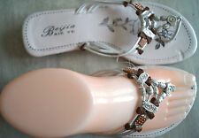 CHAUSSURE FEMME TONG BLANC PERLE BEIJIA