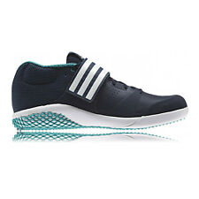 Adidas Adizero Javelin Mens Green Blue Track Field Athletic Spikes Sports Shoes