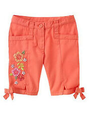 Gymboree Tea Garden sequin accented bermuda short bottoms NWT