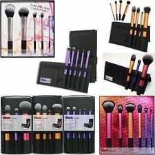 Authentic Real Techniques Makeup Brushes Core Starter Kits Bold Metals