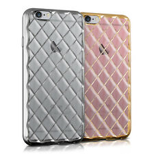 kwmobile CRYSTAL HÜLLE FÜR APPLE IPHONE 6 6S TPU SILIKON HANDY BUMPER COVER