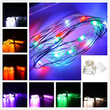 2M String Light 20 LED Battery Operated Xmas Fairy Lights Party Wedding Decor