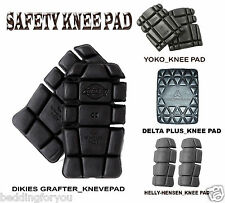 NEW GEAR SPORTS PROTECTOR KNEEPADS INSERTS SITE SAFETY MEN WORK CLOTHING