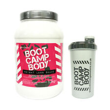 Boot Camp Slimming Diet Shakes Weight Loss VLCD Meal Replacement Drink + Shaker