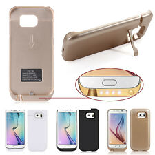 4500mAh External Power Pack Battery Charger Case Cover For Samsung Galaxy S6