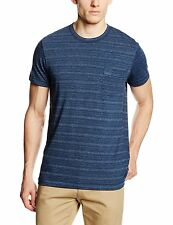 French Connection Summer Stripe Blue Fashion T-Shirt Blue Slim Fit Cotton Tee