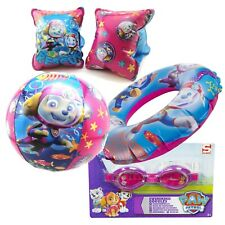 Paw Patrol Swim Ring, Arm bands, Beach Ball and Kids Swimming Inflatable Set