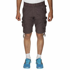 Greentree Mens Cotton Shorts 6 Pocket Cargo Brown Shorts MASR34