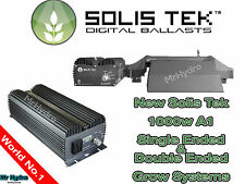 Solis Tek Solistek 1000w High Frequency Digital Ballast A1 Single Double Ended