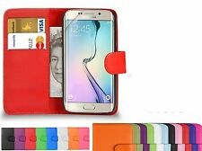 Exclusive Leather Flip Wallet Diary Case Cover Pouch For Samsung Galaxy S7 edge