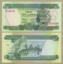 SOLOMON ISLANDS - SELECT FROM  $2-$20  QEII-2013  Uncirculated  ( Banknotes )