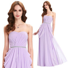 KK Chiffon Ball Gown Evening Prom Party Dress Formal Long Sweetheart Wedding New