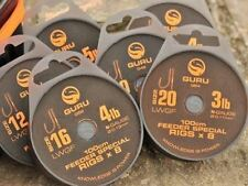 Brand New Guru LWGF Feeder Special Rigs - 1m - All Sizes Available