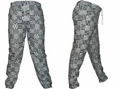 Mens New Jogger Dance Spor twear Baggy Harem Pants Slacks Trousers Printed pant
