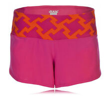 """Zoot PCH 3"""" Womens Pink Orange Outdoors Running Gym Shorts Pants Bottoms"""