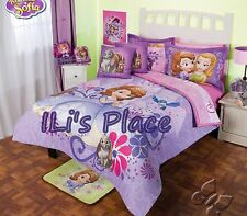 Twin and Full Girls Disney Princess Sofia the First Comforter Set