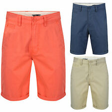 Men's Lee Regular Fit Chino's Chino Shorts 3 Colours Zip Fly Stretch Feel