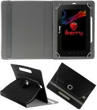 "ROTATING 360° LEATHER FLIP STAND COVER  8"" For Karbonn Smart Tab 8 Velox"