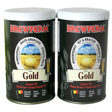 Brewferm Gold premium pils Beer Kit DOUBLE - Home Brew Brewing