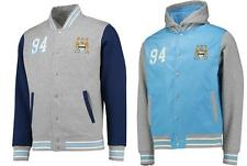 Manchester City FC Mens Official Bomber Jackets BLUE or NAVY S-XXL 18022R/1803EZ