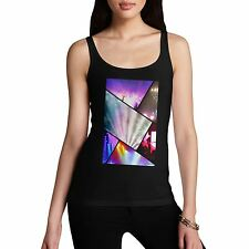Twisted Envy Women's Party Collage Tank Top