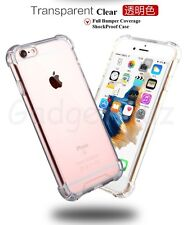 Shock absorption TPU Clear Back Bumper Case For Apple Iphone 5 5S SE