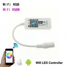 Mini Wifi RGB RGBW led Controller ISO Android APP DC 12V for led strip light