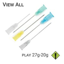 27g–20g Sterilized Play Piercing Precision Needles - Box of 25