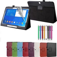 Smart Cover Custodia In Pelle per Samsung Galaxy Tab 2 4 10.1 Pollici T530/T535