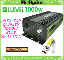 1000w Lumii Digital Ballast & Bulb Selection, Lumatek Solis Tek Powerplant Lamps