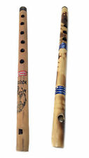 Beginners Musical Indian Bamboo Flute Bansuri Fipple Approximately 12""