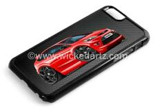 RetroArtz Cartoon Car Ford Focus MK2 ST Red (BK Alloys) iPhone 6/6+ Case/Cover