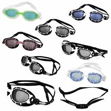 AQUA-SPEED® ALPHA Schwimmbrille (Anti-Beschlag UV-Filter+UP®-SPLASH Badekappe)